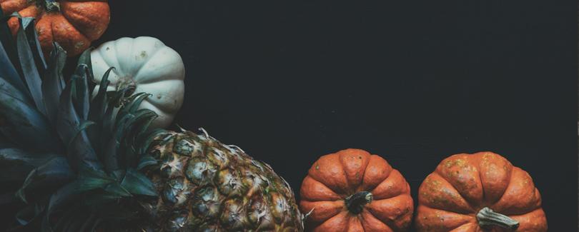 Los alimentos para las comidas de otoño